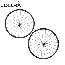 LOLTRA super light 24mm clincher 700C bicycle wheels carbon Straight pull wheelset