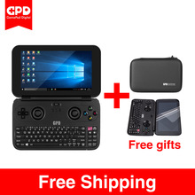 New GPD WIN Aluminium Shell Version 5.5 Inch Mini Game Laptop CPU x7-Z8750 Windows 10 System Bluetooth 4.1 4GB/64GB(Black)
