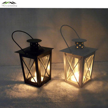 2PCS/LOT Metal Bird Cage Wedding Candle Holder Lantern Morocco Vintage Small Lanterns For Candles Decorative Cages Lamp 010