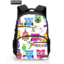 New 2016 birds school backpacks for teenage girls,best selling animal rucksack women mochilas femininas zoo birds Backpack