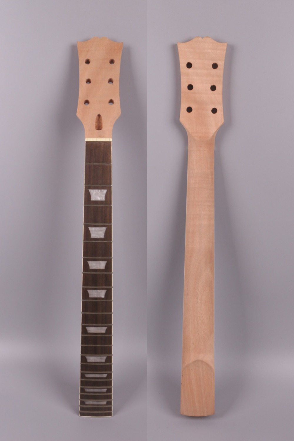 unfinishede electric  guitar neck 22 fret Locking nut 628mm mahogany  made  and  rosewood  fingerboard 005#<br>