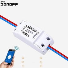 Sonoff New Wireless Wifi Switch Universal Smart Home Automation Module Timer Diy Wifi Switch Remote Controller Via IOS Android