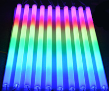 (50pcs/lot)LED Neon bar 0.5m AC220V LED Digital Tube/LED tube rgb color waterproof outside colorful tubes building decoration(China)