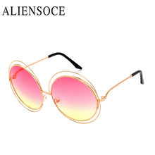 New Brand Metal Sunglasses Sideral Hollow Frame Women Vintage Cat Eye Miror UV400 Sun Glasses Beach Summer Good Quality