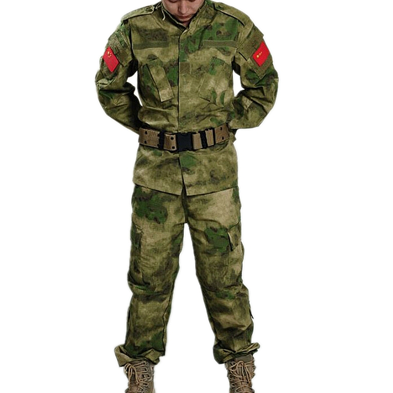 FG Military Tactical Cargo Pants Uniform Windproof Camouflage Military BDU Combat Uniform US Hunting Clothing Set<br>