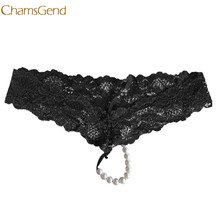 Buy Sexy Women G String Underwear Lady's Thongs Lady Panties Lace Lingerie girl Underwear l1229