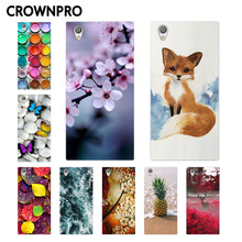 Buy CROWNPRO Soft TPU FOR Capa Sony Xperia L1 Case Cover G3311 G3312 G3313 Painted Silicone Phone Back FOR Coque Sony L1 Case for $1.14 in AliExpress store