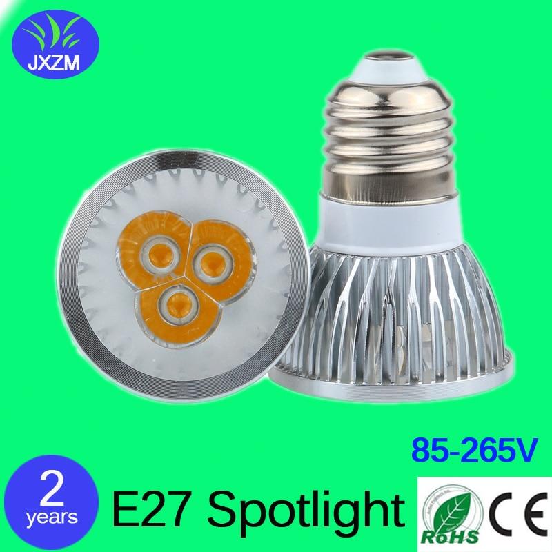 10PCS High power CREE Led Lamp Dimmable E27 9W 12W 15W 85V-265V Led spot Light Spotlight led bulb downlight lighting Indoor lamp<br><br>Aliexpress