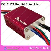DC12V 12A 144W IP65 Waterproof 3 Channel Red LED Repeater LED Amplifier Controller for 5050SMD RGB LED Strip Light(China)