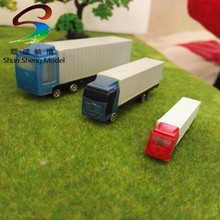 1:150 truck plastic model car toys .mini smart car toy, goods van car