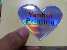 laser hologram sticker label/epoxy dome sticker printing custom(China)