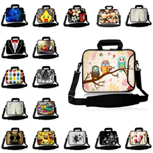 "Notebook Computer Zipper 14"" Messenger Bag For ASUS Acer Lenovo Chromebook 14.1"" Unisex Shoulder Laptop Briefcase Free Drop Ship(China)"
