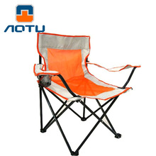 AOTU Thicken with large net yarn armrest folding chairs Beach chair, fishing chairs, outdoor chairs 525