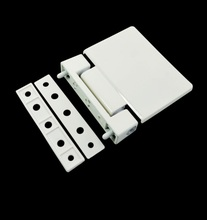 2PCS/Lot Flag Type Hinge for UPVC Window Door White Plastic Steel Profile