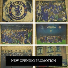 Posters Chelsea Soccer Football Star Painting Wall Home Decoration