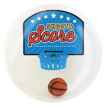 Cool New Shoot & Score Mini Basketball Shooting Game Desk Travel Office Desktop Toy(China)