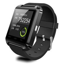 Promotion U8 Smart Watches Android Bluetooth Dial Call Altitude Meter Calendar Passometer Smart Watch for Android iOS Smartphone
