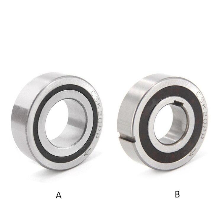 2 PCS CSK8PP 608-2RS 8*22*9 8x22x9 mm One Way Clutch Dual Keyway Bearing