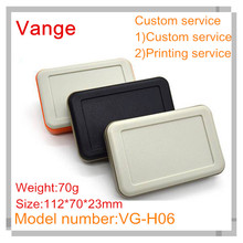 5pcs/lot Good material plastic case IP54 portable ABS plastic enclosures boxes for electronic device 112*70*23mm(China)