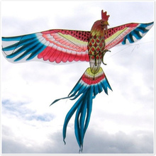 3d camping wind spinner Kite traditional single line kites vliegers windsock outdoor fun anime adult beach nylon ripstop fabric