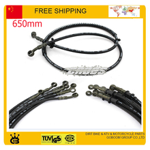 orion 500mm 650mm black Hydraulic Brake Hose pipe 50cc 110cc 125cc ATV Dirt Pit Mini Pocket Bike buggy go cart Roketa NST