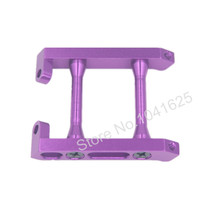 HSP 108036 Upgrade Parts Purple Aluminum Rear Brace For RC 1:10 4WD Off Road Monster Truck Model Car 94188