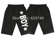 Boy London sweat shorts for men best price hip hop short pants casual trousers sportswear Rock short black grey