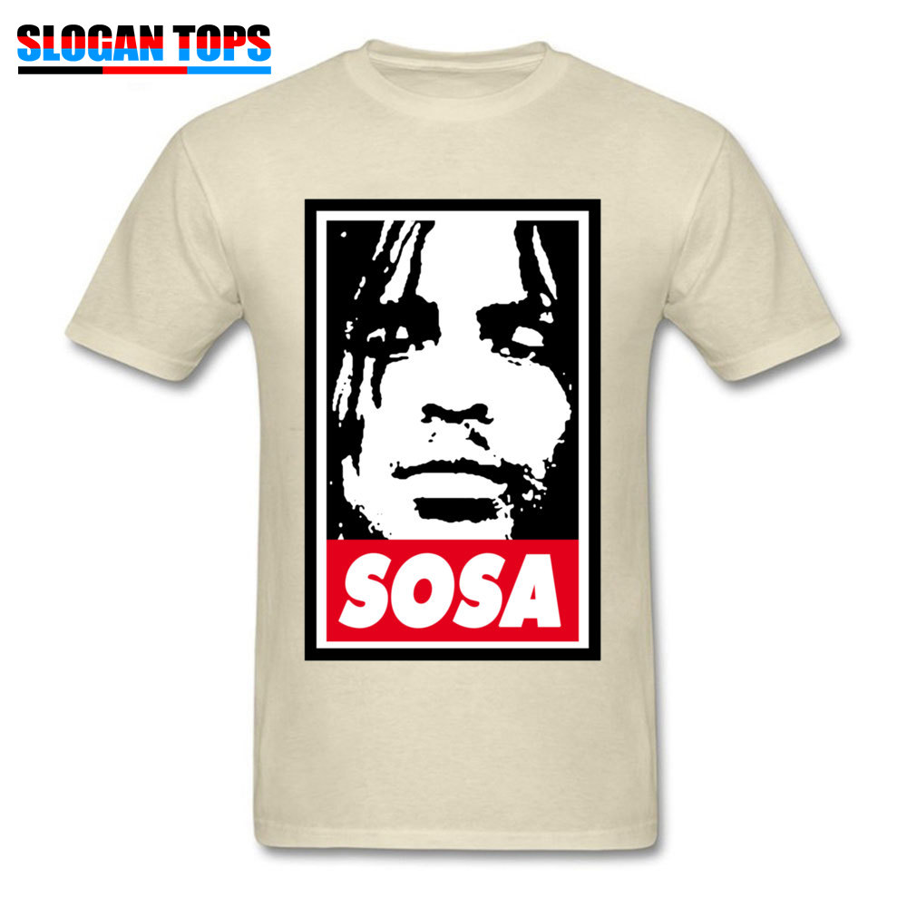 Sosa Chief Keef 1151 Tops Shirts Brand New O Neck Design Short Sleeve All Cotton Men\`s Top T-shirts Street Tees Sosa Chief Keef 1151 beige