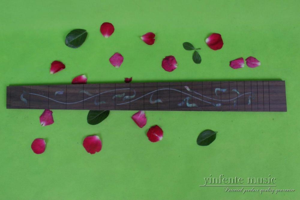 Guitar Accessories  1 pcs   x  25.5electric   Guitar Fretboard electric guitar ROSE   Wood Fretboard Parts 00-015# inlay<br>