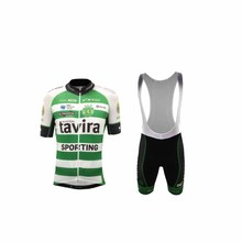 hot 2017 tavira SPORTING New Cycling Jersey Men's Short Sleeve Bicycle Cycling Clothing Bike Wear Shirts(China)