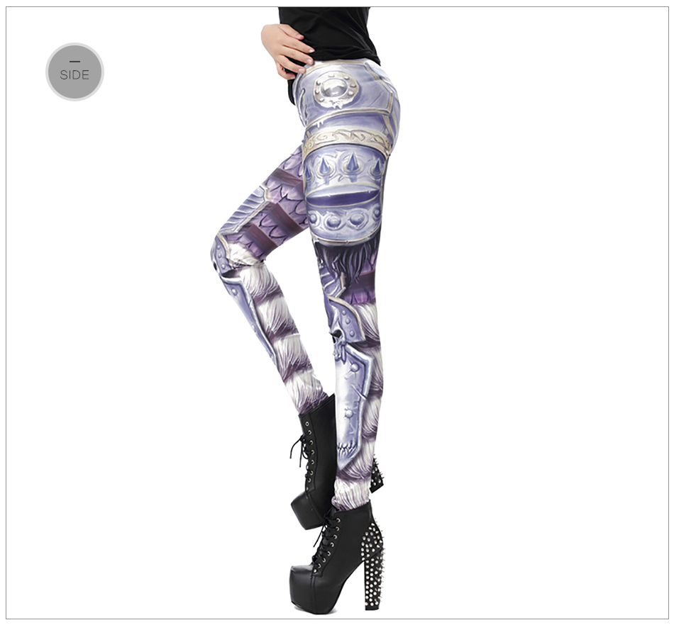 17 New Design Spring Summer WOW OF THE HORDE Legins Popular Fashion Leggins Printed Women Leggings 25