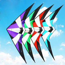 High Quality 1.8m/70inch Dual Line Professional Delta Stunt Kite Outdoor Sport Power Kite With Flying Tools Beach and Square(China)
