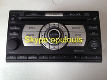 New Ni$$an 28185 JG41A clarion PN-2874T-A/PN-2874T Xanavi CD6K-1450E X-Trail T31 6 CD changer MP3 Bluetooth car radio 2008