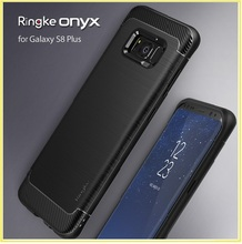 For Samsung Galaxy S8 Cases Original Ringke Onyx Flexible Durability TPU Defensive Drop Protection Coque For Galaxy S8 Plus(China)