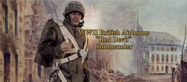 Shovel for DID K80135 WWII British 1st Airborne Red Devil Commander Roy 1//6th