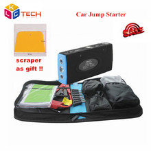Emergency Charge Supply Car Jump Starter Works For Petrol&Diesel Car/Motorcycle/Digital Car Emergency Auto Battery Power Bank(China)