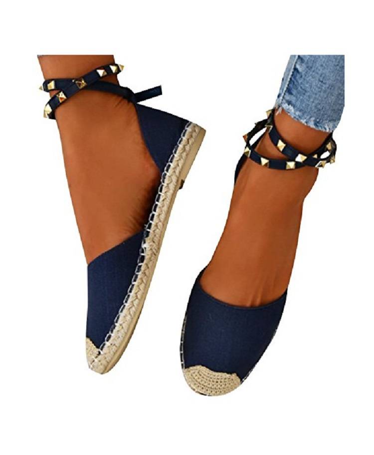 Women Sandals Fashion Peep Toe Summer Shoes Woman Faux Suede Flat Sandals Size 35-43 Casual Shoes Woman Sandals Zapatos Mujer (10)