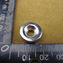 Wholesale 5pcs Strong Round Magnets Dia 15x5mm (with 4mm hole )N50 Rare Earth Neodymium ring Magnet 15*5mm(China)