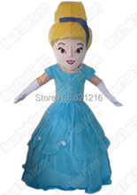 High quality Cinderella Mascot Costume Fancy Dress cartoon Character Adult Chirstmas mascot costume