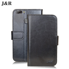 "Cover For Oukitel U20 Plus Dual 5.5"" flip cover Luxury Stand Holder Card leather case for Oukitel U20 Plus Phone Bag&Wallet"