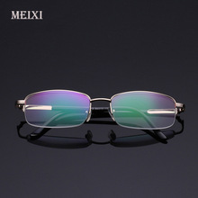 HD Coating Radiation protection Half frame Resin Reading Glasses women man Eyewear+1.0 +1.5 +2.0 +2.5 +3.0 +3.5 +4.0