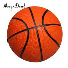 MagiDeal New Mini Kids Child Rubber Basketball Outdoor Indoor Play Game Ball 5.1 Inch(China)