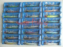 Sample Set (24 pcs) for Minnow Slim Plastic  Fishing Lure(M125F) Enjoy Retail Convenience at Wholesale Price