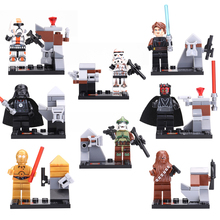 Super Heroes Star Wars Figure building Blocks bricks mini CHEWBACCA/STORM TROOPER/DARTH MAUL action figures Fidget toys SY198 - HuiQiBao Store store
