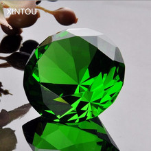 XINTOU kawaii cabochons Crystal Glass Diamond Figurine Natural 4 cm feng shui House Decorative Crafts Wedding figurines Gift