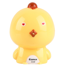 COMIX Fashion Cute & Funny Twelve Animal Shape Mini Pencil Sharpener For Kids millet chicken(J110)