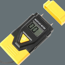 MINI 3 in 1 Wood/ Building Material Digital Moisture Meter Sawn Timber Hardened Materials And Ambient Temperature(China)