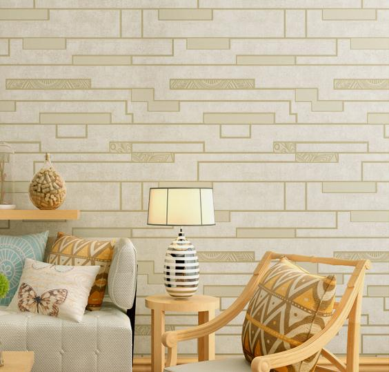 3D Embossed Stone TV Sofa Background Wallpaper PVC Brick Wall Designer Decor<br>