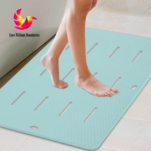 High quality Bathroom non slip mat Toilet door mat Large shower bath mat Non slip furniture , 20 mm thickness(China)