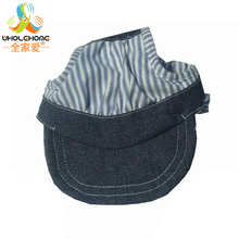 1PCS/Lot Striped Blue Pet Dog Hats Breathable Baseball Dog Caps Cat Dog Accessories Dogs Sports Sun Hats Pet Supplies
